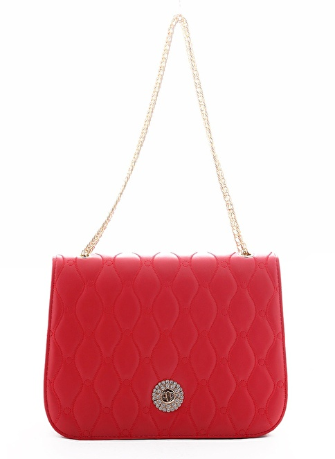 Gio&Mi Messenger / Askılı Çanta Kırmızı